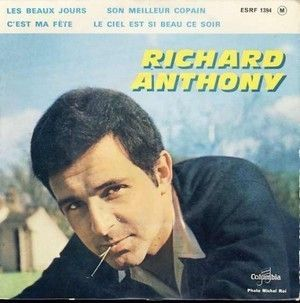 RICHARD ANTHONY - C'EST MA FETE