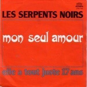 LES SERPENTS NOIRS - MON SEUL AMOUR