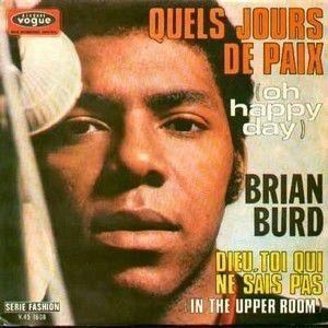 BRIAN BURD - QUELS JOURS DE PAIX