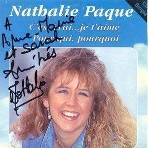NATHALIE PAQUE - POUR QUI , POURQUOI